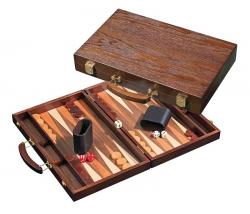 Set joc table / backgammon - frasin - 38x48 cm1