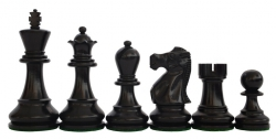 Piese de sah din lemn Staunton 6 - Executive EQ, Black1