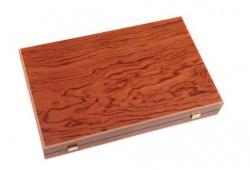 Set joc table/backgammon – lemn de trandafir – nod inlaid– 48 x 60 cm1