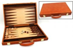 Set joc table / backgammon - frasin - 45x59 cm0