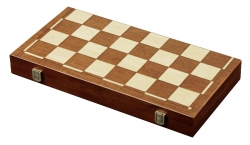 Set de sah si table/backgammon - 45mm, kh 78mm, - Imperfect