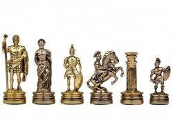 Piese sah din metal - Grecii si Romanii - Mediu0