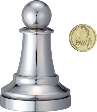 Puzzle - Cast Chess Pawn - Silver [1]