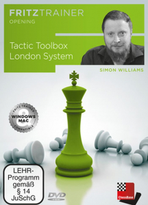 DVD: Tactic Toolbox London System - Simon Williams