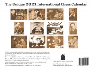Calendar Sah International 20211