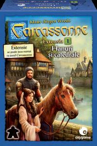 Carcassonne, extensia 1: Hanuri și catedrale
