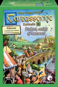 Carcassonne, extensia 8: Poduri, cetăți și bazaruri0