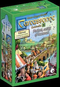 Carcassonne, extensia 8: Poduri, cetăți și bazaruri1