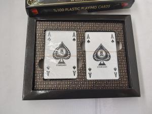 Carti de joc 100 % plastic Star Platin1