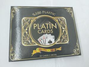 Carti de joc 100 % plastic Star Platin0