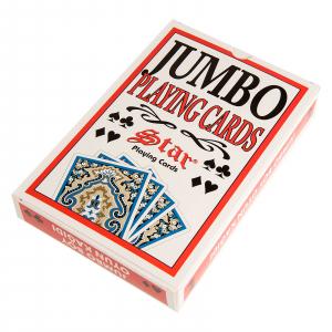 Carti de joc Jumbo  Star model mare [0]
