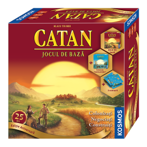 CATAN - Editie Aniversara 25 de ani0