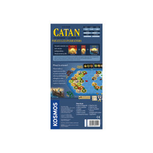 CATAN - extensie Pirati & Exploratori 5/6 jucatori1