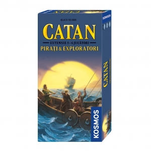 CATAN - extensie Pirati & Exploratori 5/6 jucatori0