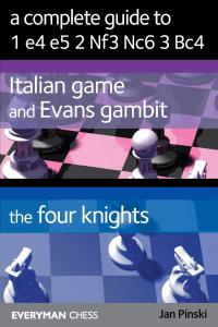 Carte : A Complete Guide To 1.e4 e5 2. Nf3 Nc6 3. Bc4 - Jan Pinski1