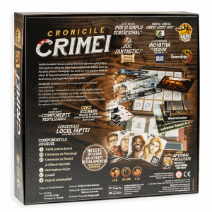 Cronicile Crimei (RO) - Joc de investigatie interactiv1