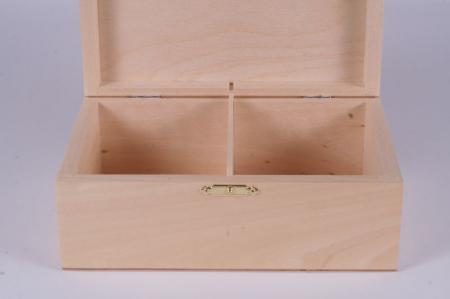 Cutie din lemn natur pentru piese sah no. 62
