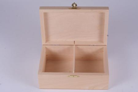 Cutie din lemn natur pentru piese sah no. 61