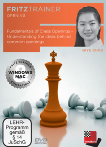 DVD: Fundamentals of Chess Openings - Understanding the ideas behind common openings - Qiyu Zhou