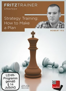 DVD: Strategy Training : How to Make a Plan - Robert Ris