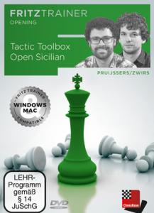 DVD : Tactic Toolbox Open Sicilian - Pruijssers / Zwirs