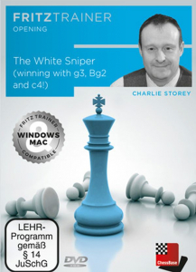 DVD: The White Sniper ( winning with g3, Bg2 an c4 ! ) - Charlie Storey