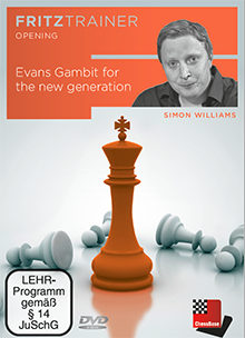 DVD: Evans Gambit for the new generation