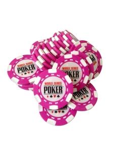 Jeton Poker WSOP Roz, clay 10 grame