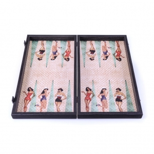 Joc de table Pin up Girl: America's Sweetheart Girl  48x50cm2
