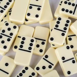 Joc Domino in caseta lemn [2]