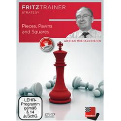 DVD: Pieces, Pawns and Squares by  Adrian Mikhalchishin