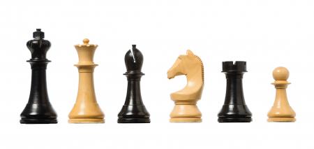 Piese de sah electronice din lemn oficial FIDE (cu greutate) [0]
