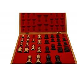 Piese lemn Staunton 5 in cutie Lux3