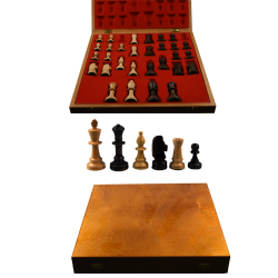 Piese lemn Staunton 5 in cutie Lux0