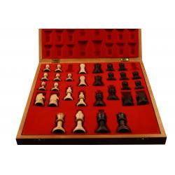 Piese lemn Staunton 5 in cutie Lux2