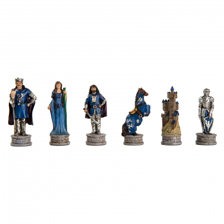 Piese sah tematice din ceramica - King Arthur1