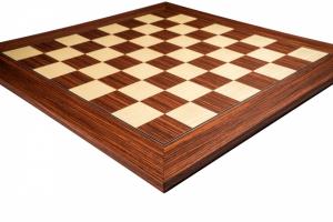 Piese sah lemn Staunton 6 DELUXE, Anjan cu Tabla de sah no. 6, 55 mm Rosewood1
