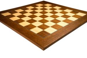 Piese sah lemn Staunton 6 World Chess Design cu tabla Deluxe Teak1