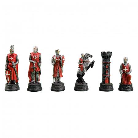 Piese sah tematice din ceramica - Cavalerii templieri0