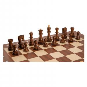 Piese sah lemn Staunton 6 Zagreb cu tabla sah lemn arin, 55mm1