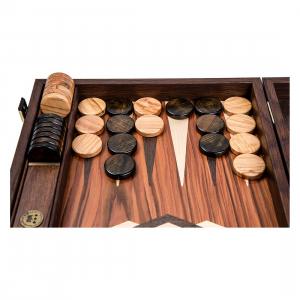 Puluri joc table din lemn de maslin - maro - d.37mm1