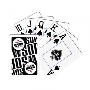 Set carti de joc poker, oficiale World Series of Poker - WSOP, de competitie, 100% plastic2