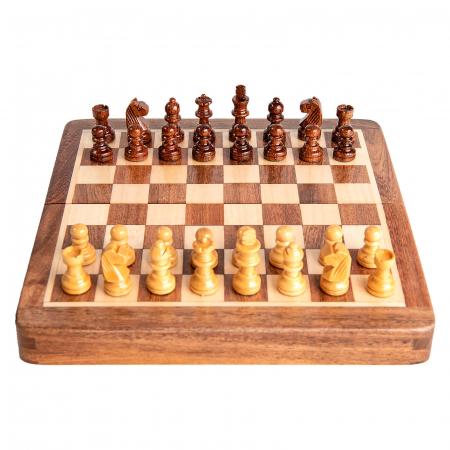 Sah magnetic lemn kh31 mm, 18x18 cm5