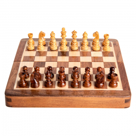 Sah magnetic lemn kh31 mm, 18x18 cm6