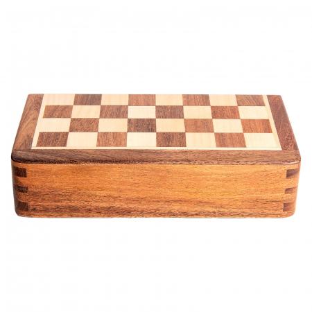 Sah magnetic lemn kh31 mm, 18x18 cm3