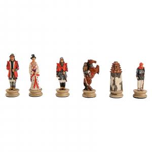 Piese sah tematice din ceramica - Samurai (KH-4,3cm)0