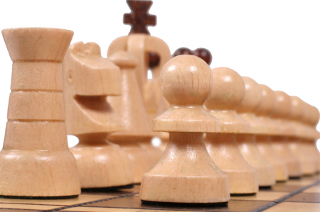 Set Șah si Dame, 35 cm [11]