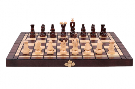 Set Șah si Dame, 35 cm [8]