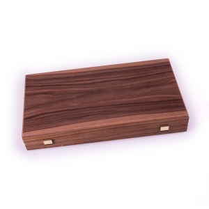 Set joc table backgammon - aspect nuc - 47,5x50 cm2