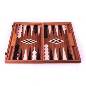 Set joc table/backgammon – lemn de trandafir – nod inlaid– 48 x 60 cm - Desigilat0